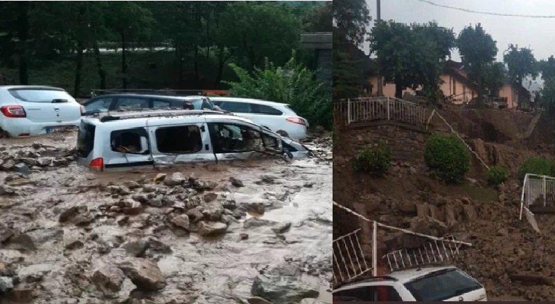 VIDEOS | Deslizamiento de lodo arrastra autos y viviendas en Casargo