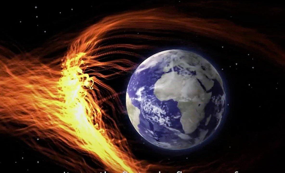 Vientos solares estan golpeando la Tierra a una velocidad asombrosa de 600 kilómetros por segundo