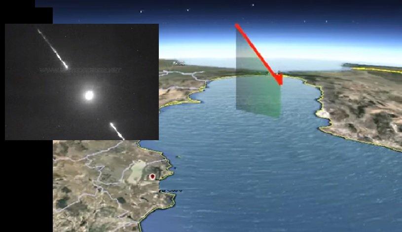 Bola de fuego creada por una roca de un asteroide iluminó el cielo de España