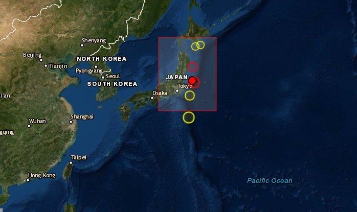 Sismo de magnitud 6.4 golpea la prefectura de Fukushima en el noreste de Japón