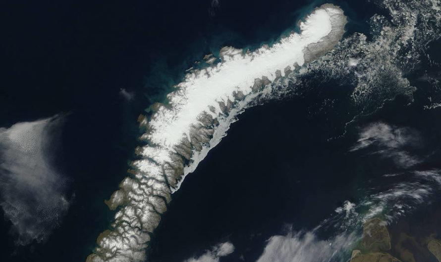 Cambio Climático: Los glaciares derritiéndose revelan cinco nuevas islas