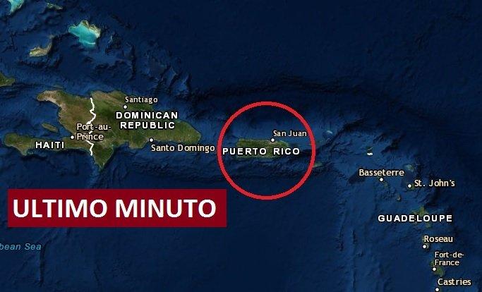 Sismo fuerte remece Puerto Rico hace minutos ¿Los sentiste?