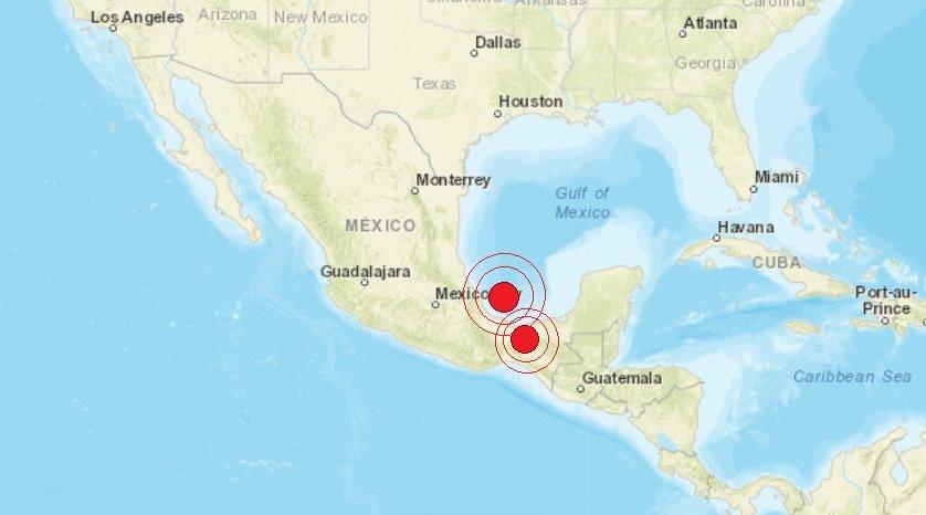 Dos sismos sacuden al estado de Veracruz este domingo; no se reportan daños