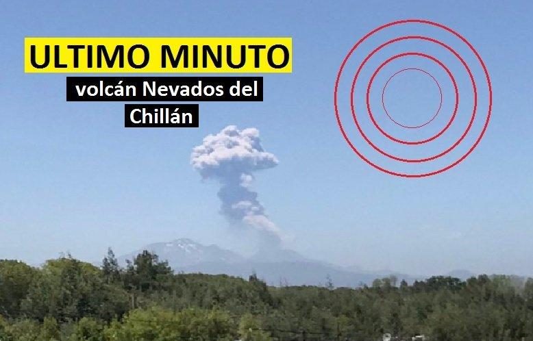 Se registra un sismo volcano-tectónico y erupción en Chile y Argentina