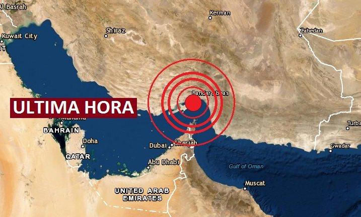 Un riguroso sismo sacude Irán y se siente en Dubai