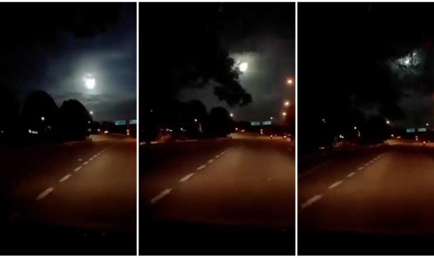 Misteriosa bola de fuego aturde a malayos y singapurenses