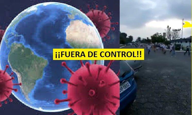 Presos se rebelan luego de las restricciones del C0vid19 varios guardias tomados como rehenes en Brasil