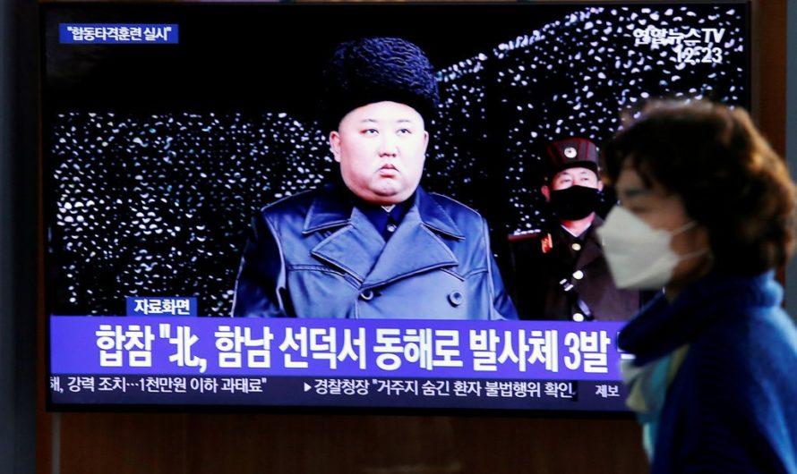 Corea del norte lanza dos misiles balisticos mientras el mundo se enfrenta a la pandemia