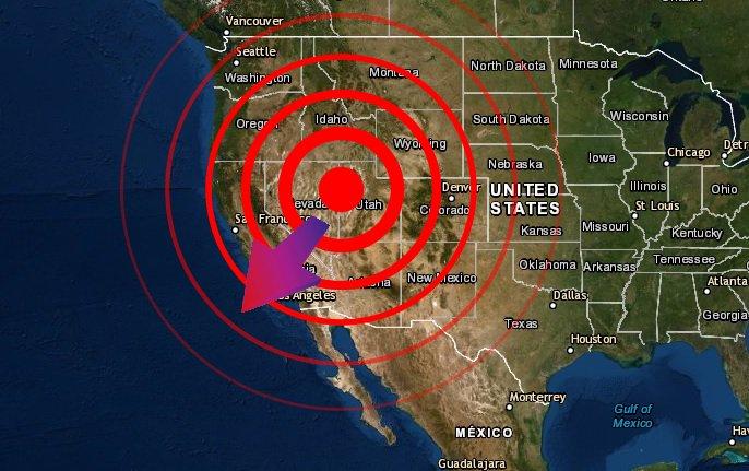 El oeste de América del Norte se está estirando y eso causa terremotos