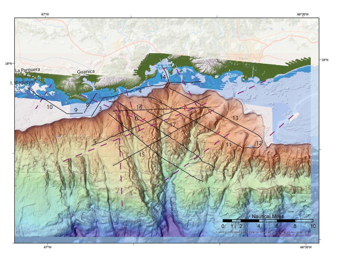 fallas geológicas en Puerto Rico