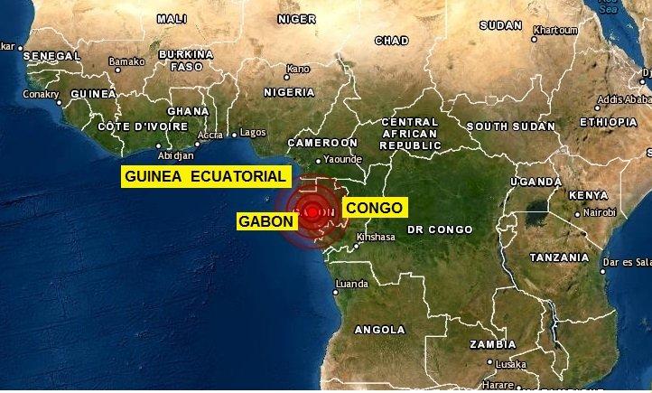 gabon earthquake