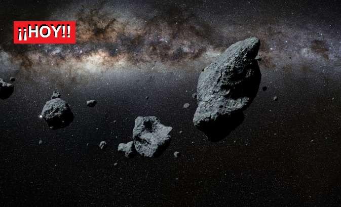 4 rocas espaciales