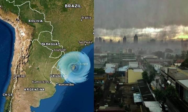 Ciclón Bomba en Brasil