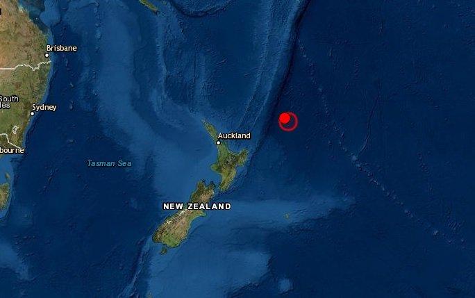 Sismo en Nueva Zelanda