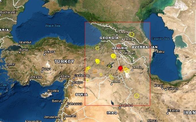 Sismo en Turquia
