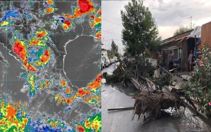 Inundaciones en Saltillo
