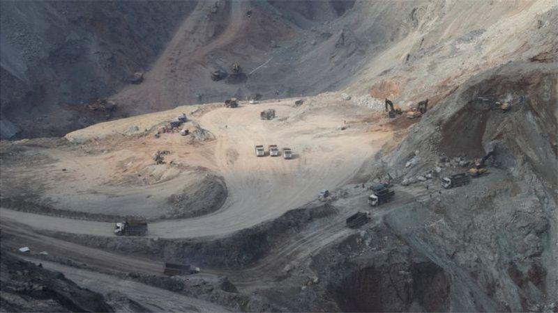 Deslizamiento de tierra en Myanmar