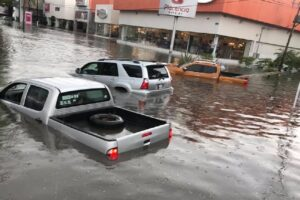 Inundaciones en Guadalajara, México