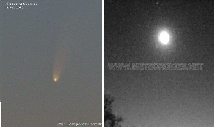 Meteorito en España