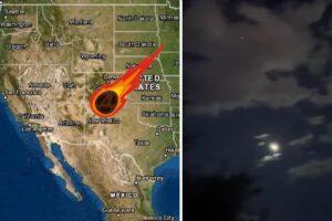 Meteorito en Estados Unidos
