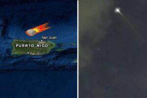 Meteorito en Puerto Rico