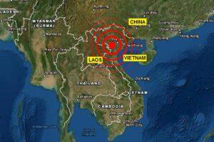 Sismo en Vietnam