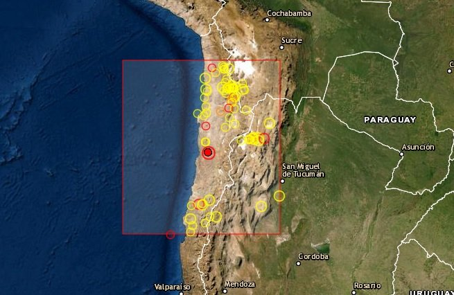 Sismo en Antofagasta
