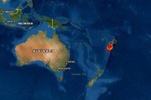 Sismo en Fiji