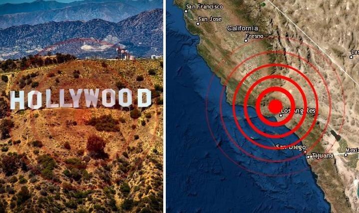 Sismo en Los Angeles Ca