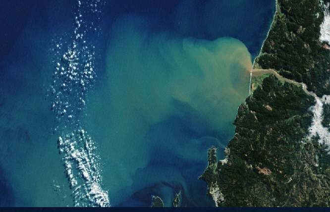 Río atmosférico en Chile