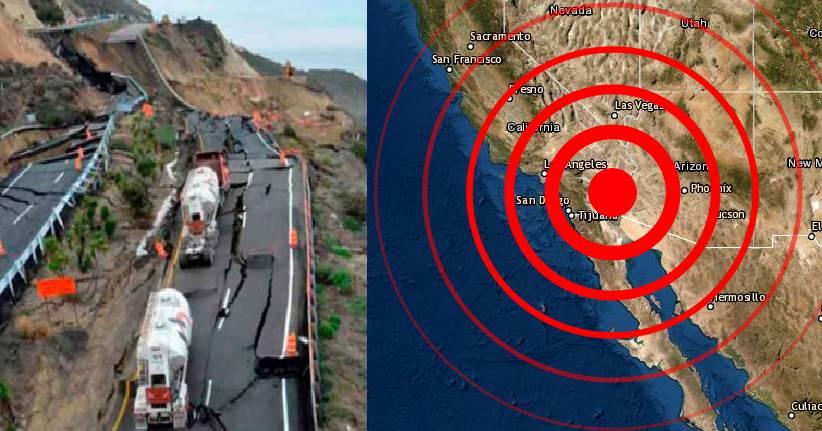 Terremoto en Estados Unidos y México