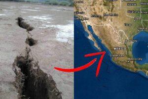 Se abre la Tierra en México