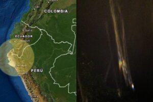 fuerte ESTRUENDO Perú Ecuador