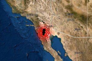 Sismo en Baja California