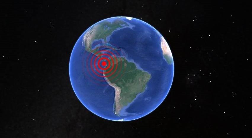 Sismo en Colombia y Panamá