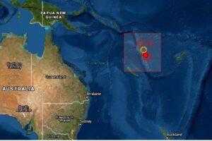 Sismo en Vanuatu
