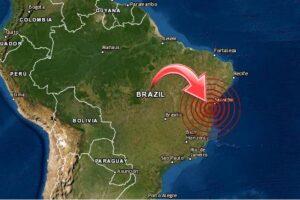 sismo en Brasil