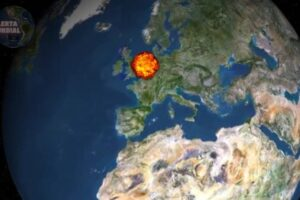 Bola de fuego de pastoreo en Europa