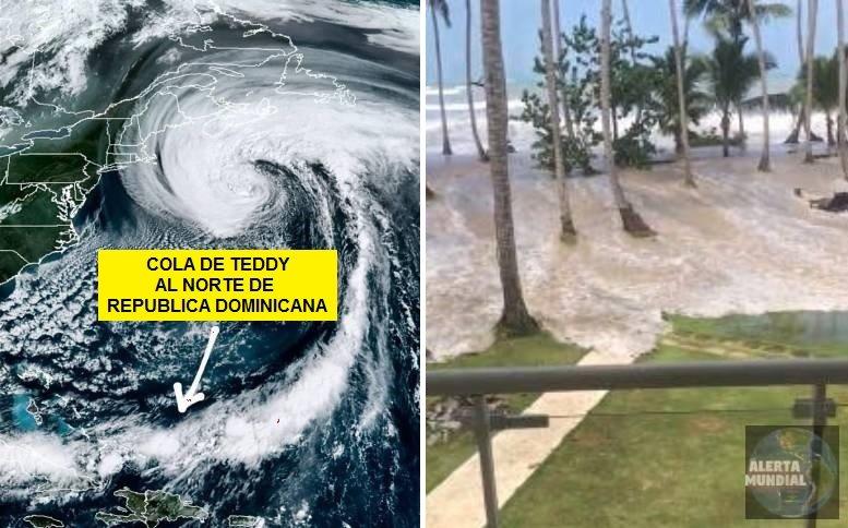 Ciclón Teddy en República Dominicana