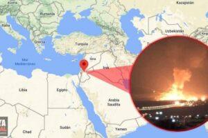 Explosión en Jordania