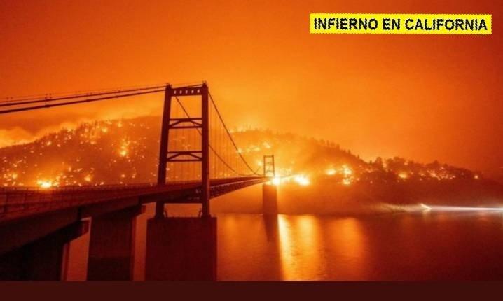 Incendio Bear California