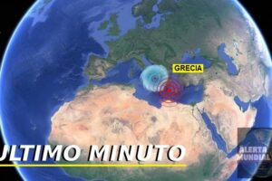 Sismo en Grecia
