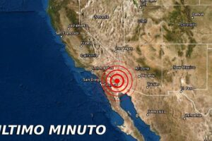 Sismo en Mexicali California