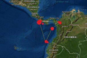 Sismos en Ecuador Colombia Panamá Costa Rica