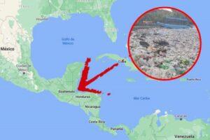 tsunami de basura en Honduras