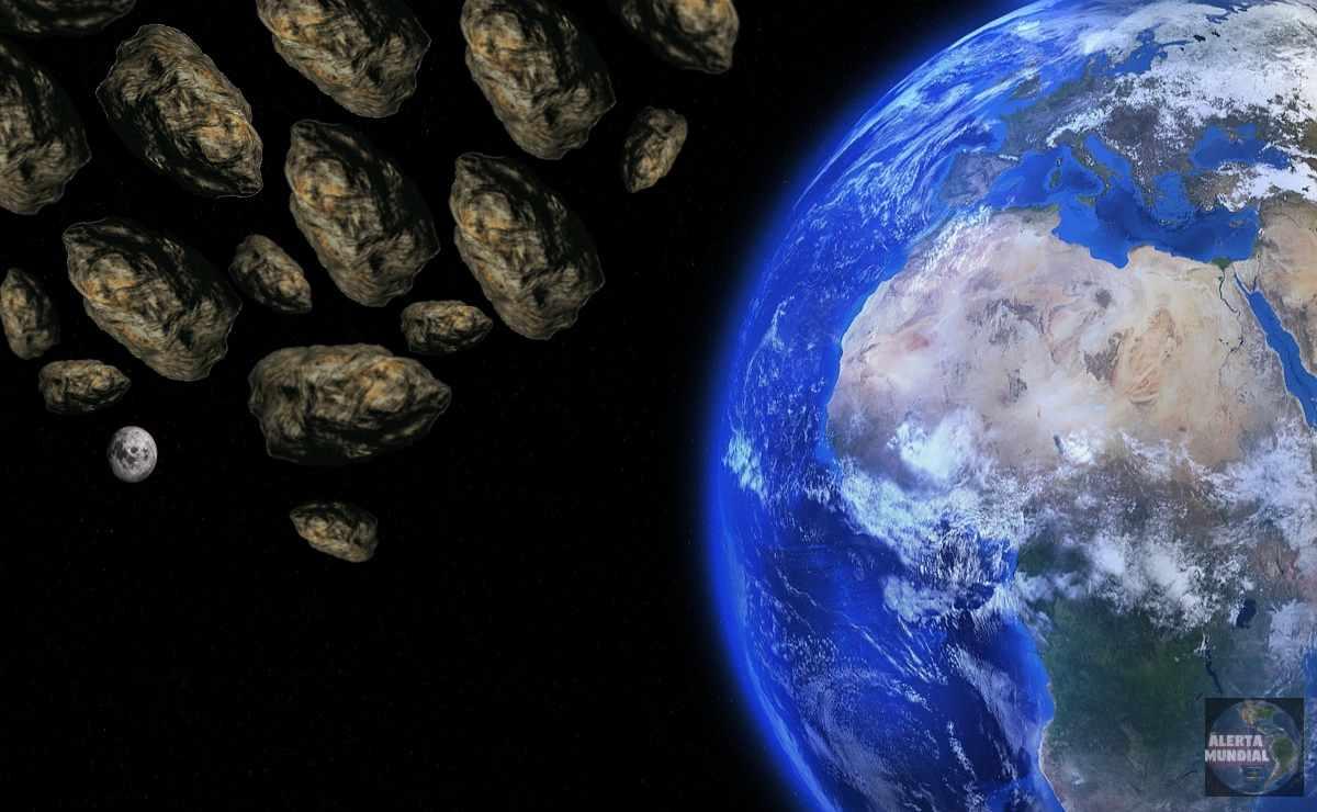 16 asteroides se acerca a la Tierra