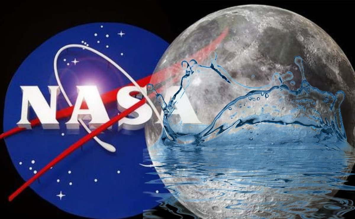 Agua en la Luna