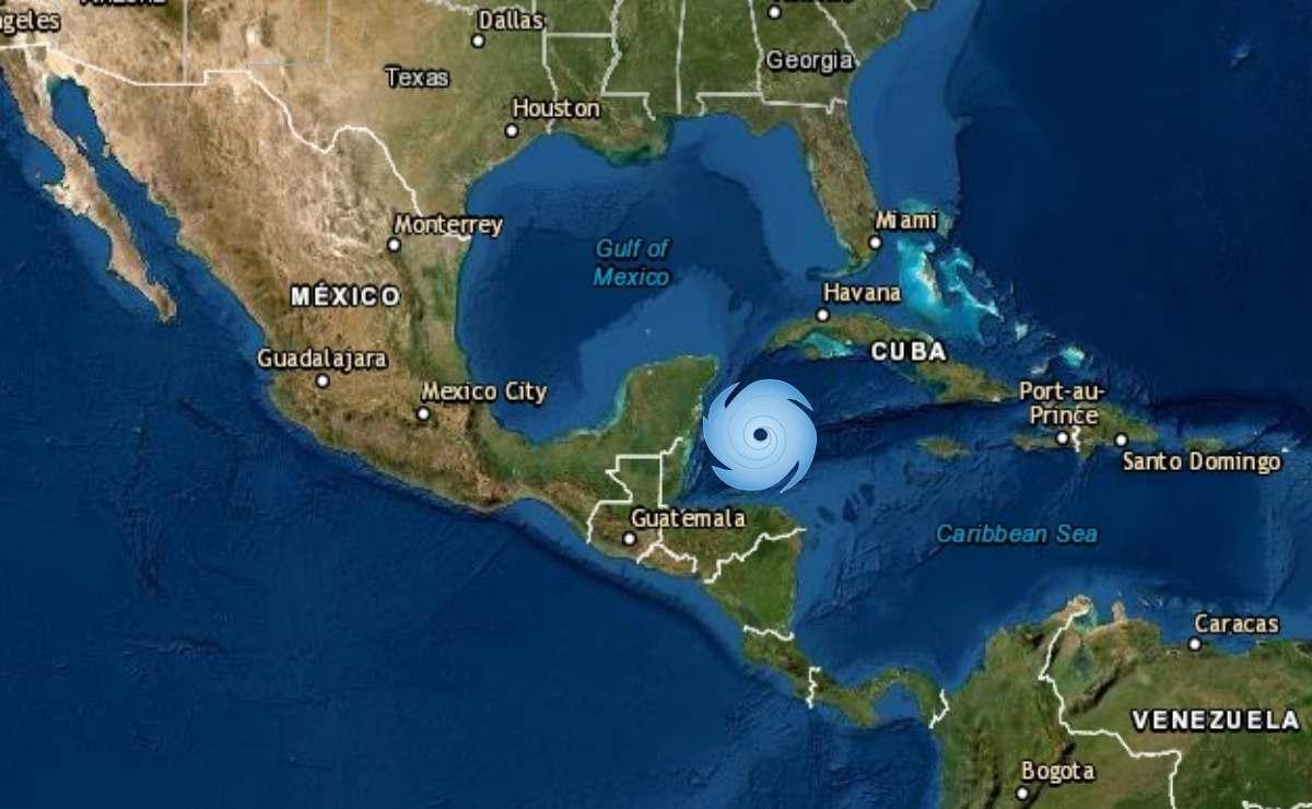 Huracán Zeta en Yucatán