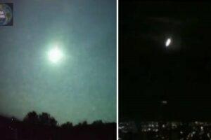 Meteoritos en México y Brasil