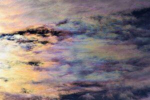 Nubes de nácar en Reino Unido